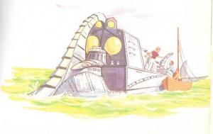 Nautilus Veinte mil leguas de viaje submarino
